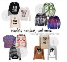 Sweaters quote #2