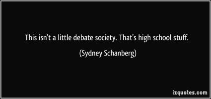 Sydney Schanberg's quote