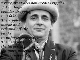 Sylvester McCoy's quote