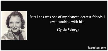 Sylvia Sidney's quote