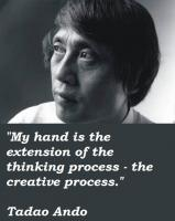 Tadao Ando's quote