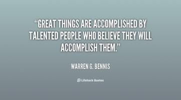 Talented People quote #2