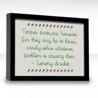 Tantrums quote #1