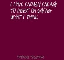 Tatyana Tolstaya's quote #4
