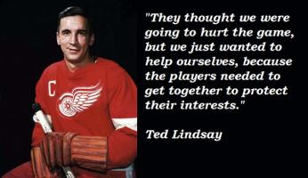 Ted Lindsay's quote