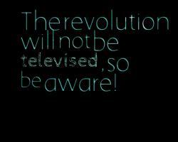 Televised quote #1