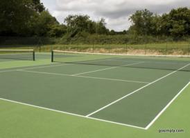Tennis Court quote #2
