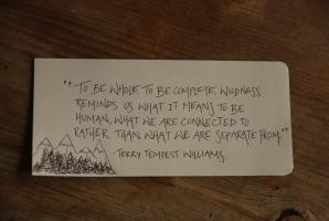 Terry Tempest Williams's quote