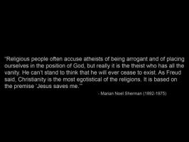 Theist quote #1