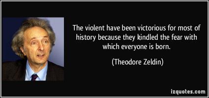 Theodore Zeldin's quote