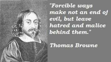 Thomas Browne's quote