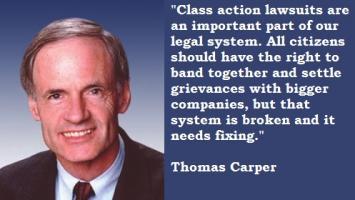 Thomas Carper's quote