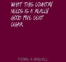 Thomas R. Marshall's quote #1
