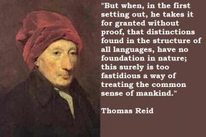 Thomas Reid's quote