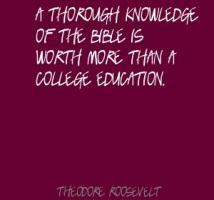 Thorough Knowledge quote #1