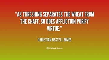 Threshing quote #2