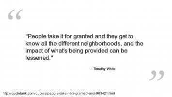 Timothy White's quote #2