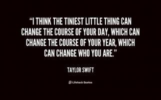 Tiniest quote