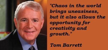 Tom Barrett's quote