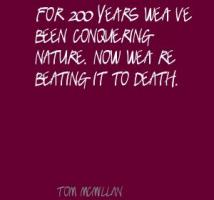 Tom McMillan's quote