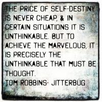 Tom Robbins's quote