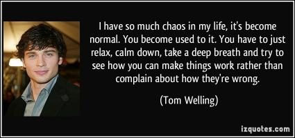 Tom Welling's quote