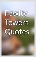 Towers quote #1