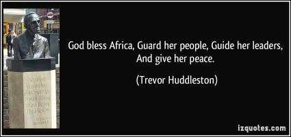 Trevor Huddleston's quote #4