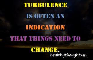 Turbulence quote #1
