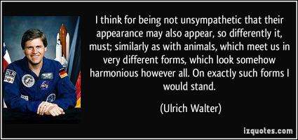 Ulrich Walter's quote