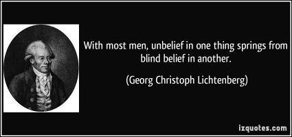 Unbelief quote #1