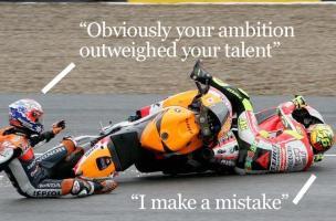 Valentino Rossi's quote
