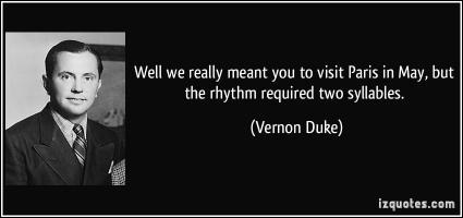 Vernon Duke's quote #1