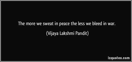 Vijaya Lakshmi Pandit's quote