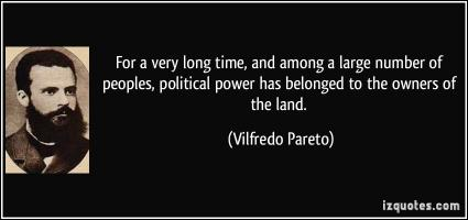 Vilfredo Pareto's quote
