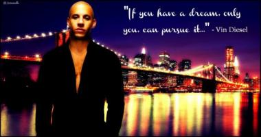 Vin Diesel's quote
