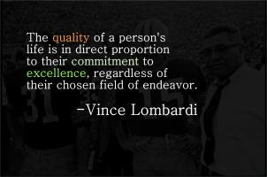 Vince Lombardi's quote