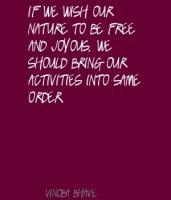 Vinoba Bhave's quote