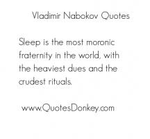 Vladimir Nabokov's quote