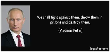 Vladimir Putin's quote