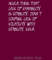 Volatility quote #1