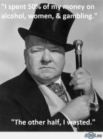 W. C. Fields's quote