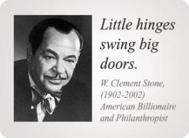 W. Clement Stone's quote