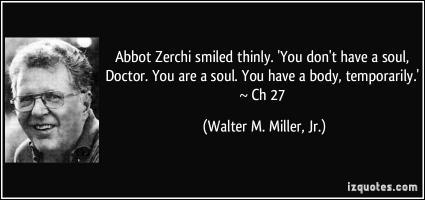 Walter M. Miller, Jr.'s quote #1