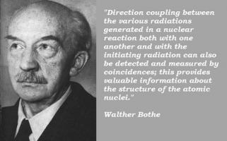 Walther Bothe's quote