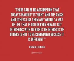 Warren E. Burger's quote