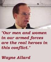 Wayne Allard's quote