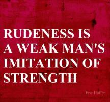 Weak Men quote
