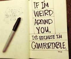 Weirdo quote #3