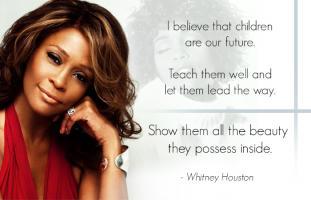 Whitney Houston's quote